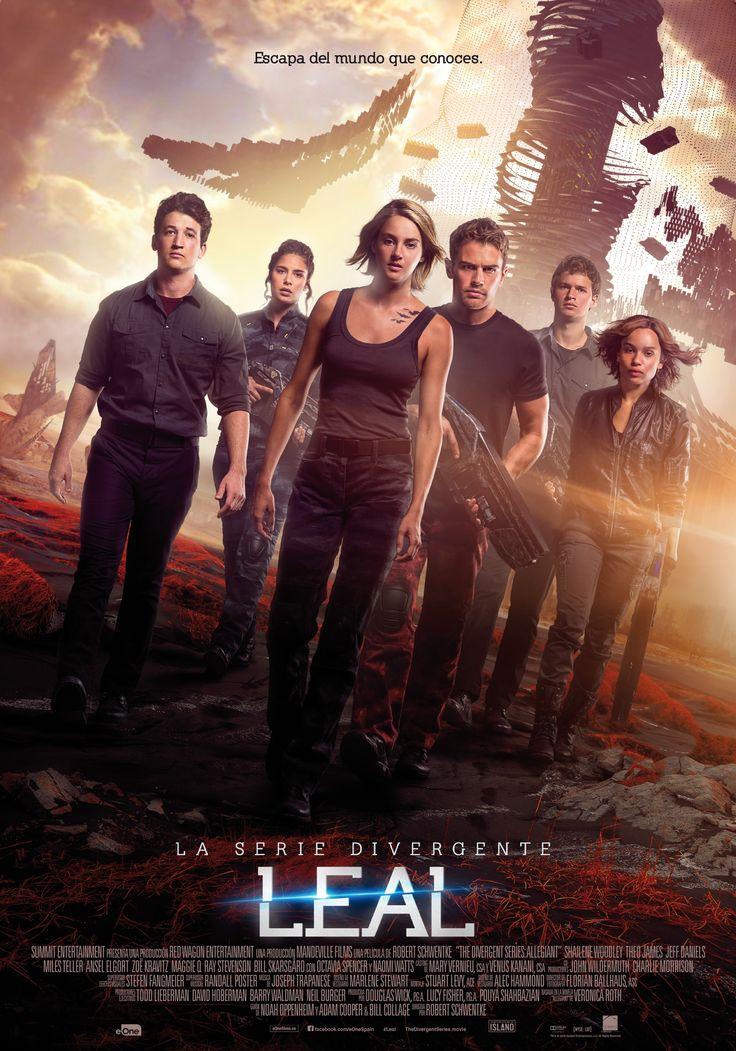 2016 / La serie Divergente: Leal - 1ª parte  - The Divergent Series: Allegiant (2016)