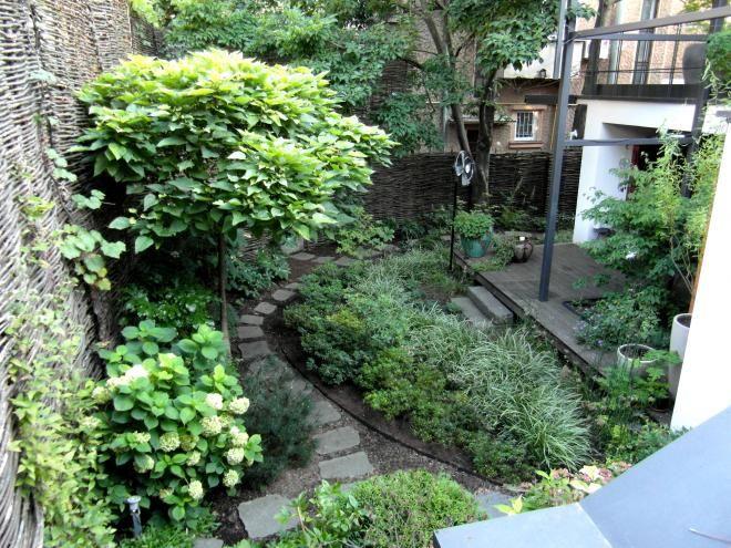 Jardin d'ombre, conception Canopées