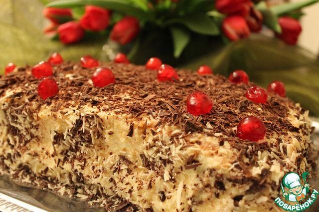 Пляцок «Пани Вишневская» - кулинарный рецепт