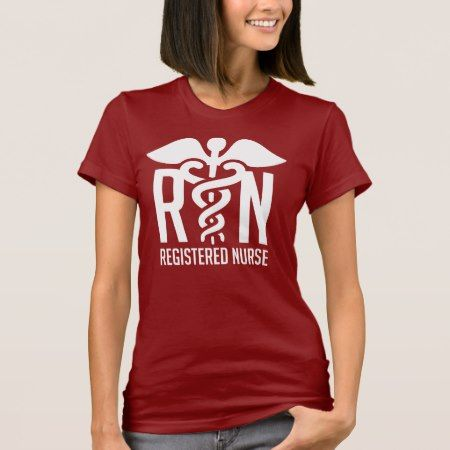 RN - Registered Nurse T-Shirt - click to get yours right now!