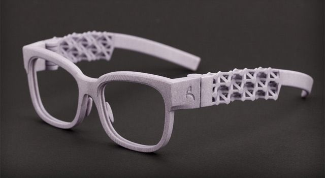 3D Printed Eyewear. Colors of Birch brings first-of-their-kind shapes to eyewear Read more: http://www.eye-wear-glasses.com/2011/09/3d-printing-for-glasses-colors-of-birch.html#ixzz2sGdI9fWs