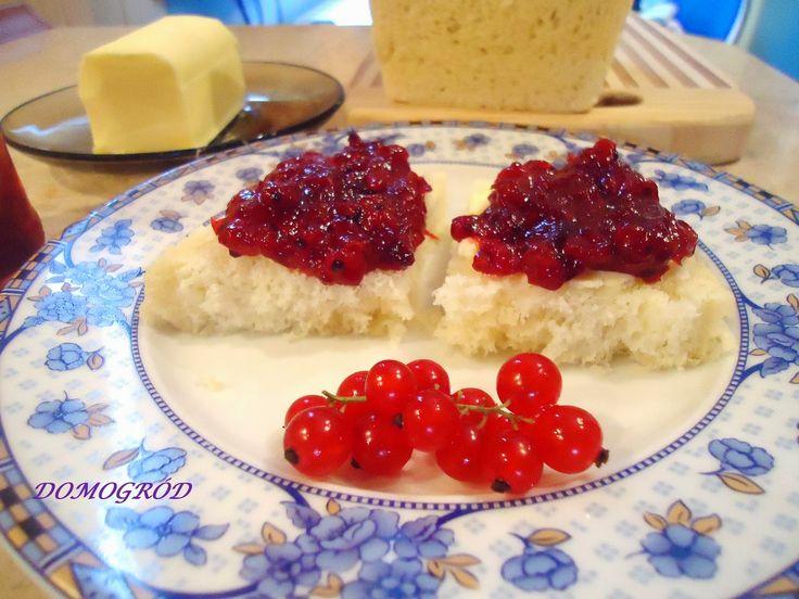 Domogród: Dżem z czerwonej porzeczki - delicje na zimę!!!