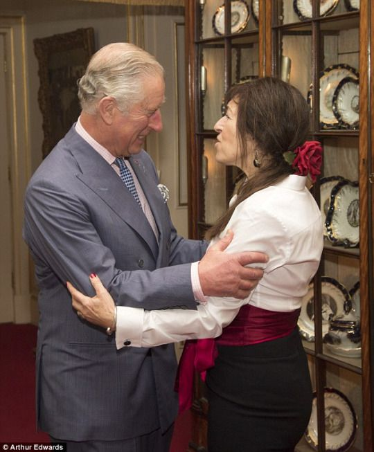 Prince Charles, The Prince of Wales: 23 November 2016  Prince Charles, The Prince of Wales, hosted a reception for Walk the Walk to celebrate the 20th Anniversary of the charity at Clarence House. He met ambassadors and supporters involved with Walk the Walk, which runs the annual fundraising MoonWalk in London, which sees women walking through the capital at night wearing their bras to raise money and awareness for breast cancer.