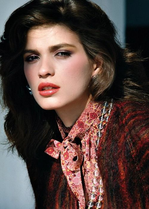 Gia Carangi - makeup by Way Bandy