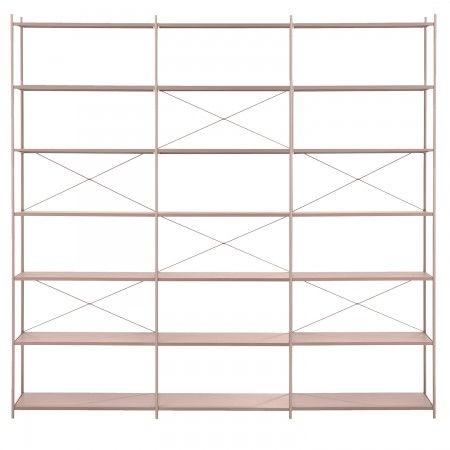 Punctual kast Ferm Living roze 3x7 | Musthaves verzendt gratis