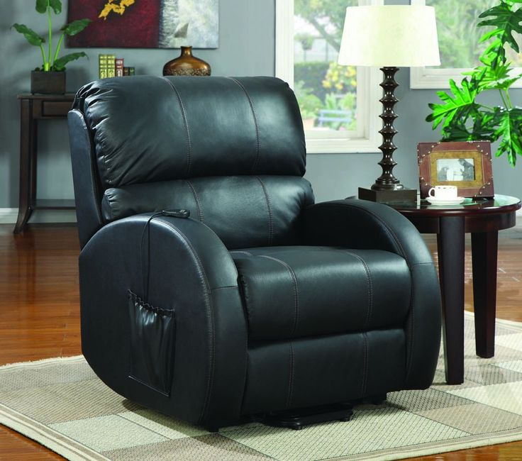Black Top Grain Leather Power Lift Recliner & 79 best Recliners images on Pinterest | Recliners Rockers and ... islam-shia.org