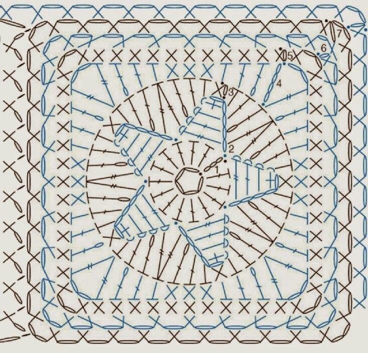73 best elements crotchet images on Pinterest | Crochet patterns ...