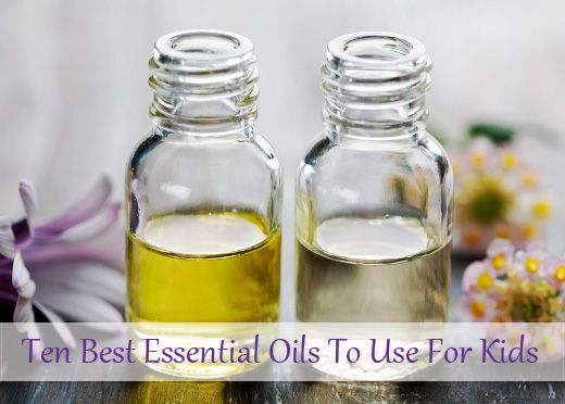 10 Best Essential Oils To Use For Kids