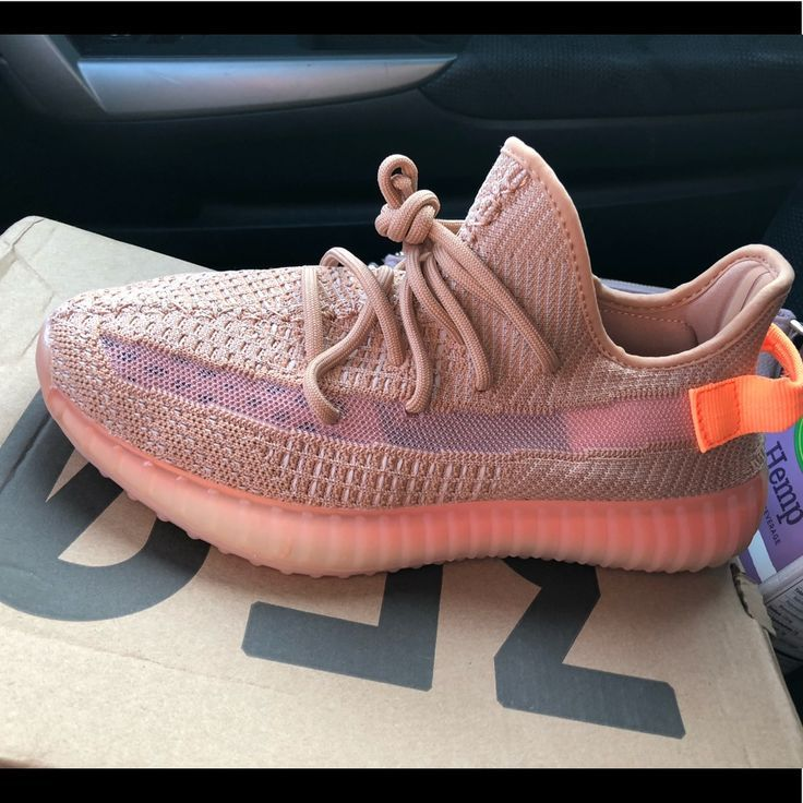 pink clay yeezy