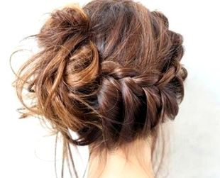 Braided buns are the perfect surprise for those behind you! #Braids #Buns #Trendy
