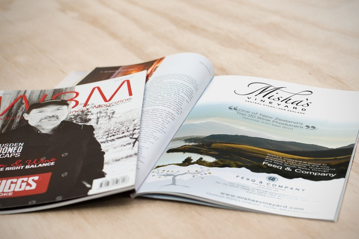 Misha's Vineyard, Central Otago, New Zealand - Featuring in WBM (Wine Business Magazine) Australia