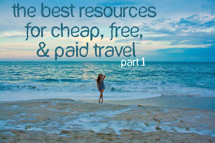 The best resources for cheap free and paid travel