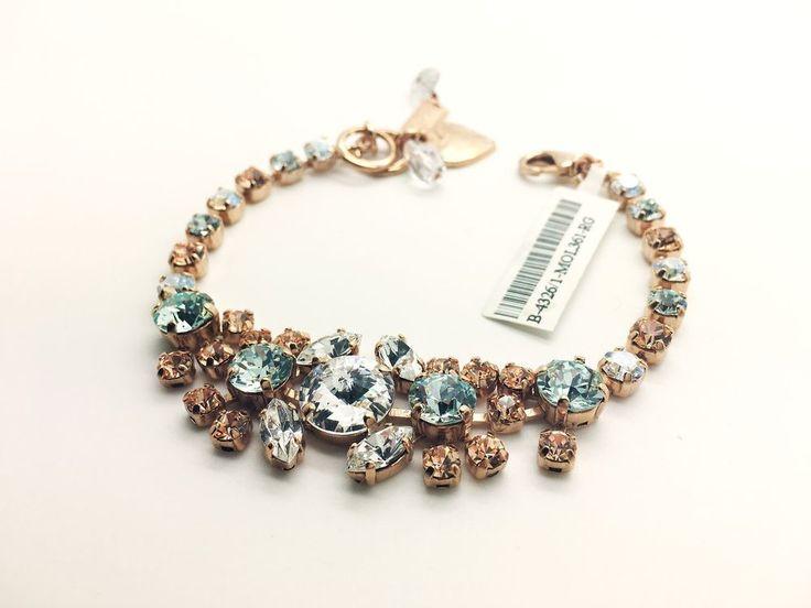 Mariana Jewelry Bracelet  Bangle Charm Swarovski Crystal woman Fashion  #Mariana #Bangle