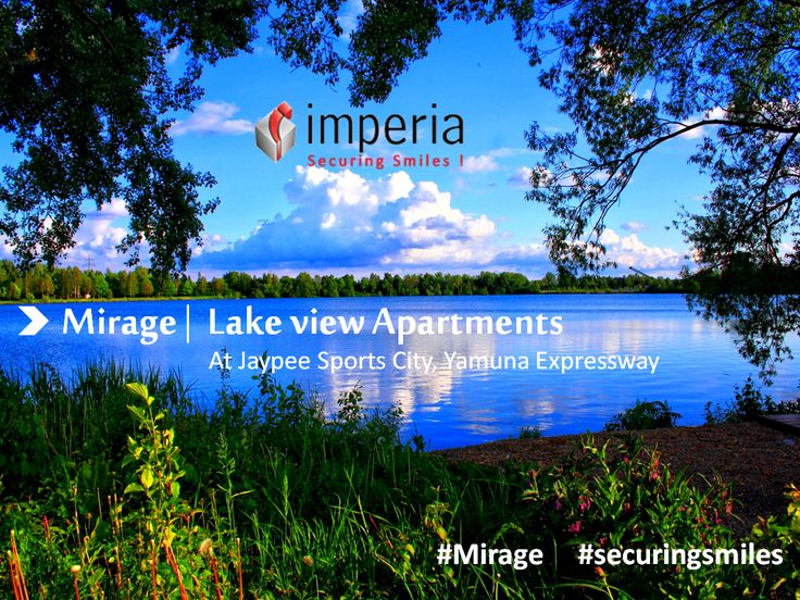 experience the touch of ‪#‎nature‬ & Dive in the ‪#‎Garden‬ Of Fragrance at Mirage ‪#‎homes‬ a Lake View ‪#‎apartment‬ located at ‪#‎Jaypee‬ Sports City, ‪#‎Yamuna_Expressway‬.