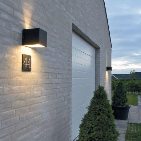Cube LED, Wandleuchte/Outdoorleuchte