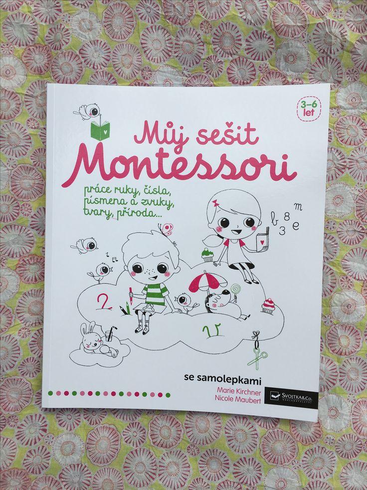 Aktivity inspirované metodou Montessori umožní dětem poznávat vlastními silami okolní svět. Děti od 3 do 6 let se postupně připraví na psaní, čtení i počítání. #kniha #montessori #sesit #aktivity #deti