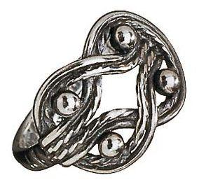TELJÄ MAIDEN RING  Designer: Germund Paaer  Material: bronze or silver