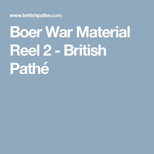 Boer War Material Reel 2 - British Pathé