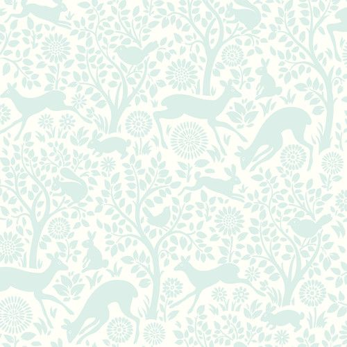"""Found it at Wayfair - Hide and Seek Anahi Forest Fauna 33' x 20.5"""" Wildlife Embossed Wallpaper"""