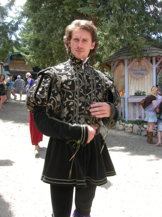 Fitzroy Tudor Man's Doublet All Sizes by NoblesseCostumes on Etsy, $945.00