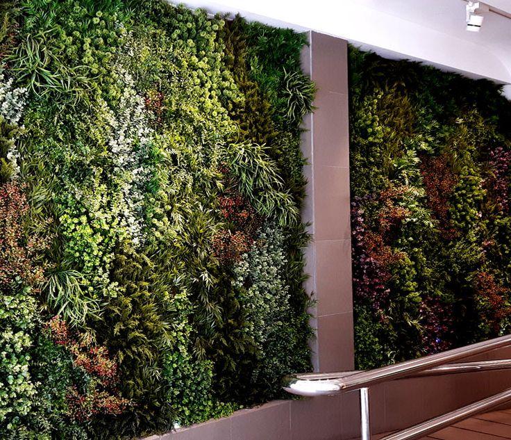 Las 25 mejores ideas sobre jardin vertical artificial en for Jardines en paredes