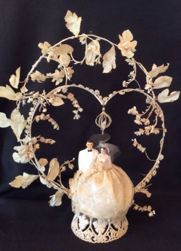 Vintage 1959 Wedding Cake Topper | eBay