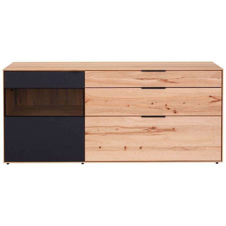 Die besten 25+ Sideboard kernbuche Ideen auf Pinterest Tv möbel - wohnzimmer eiche massiv modern