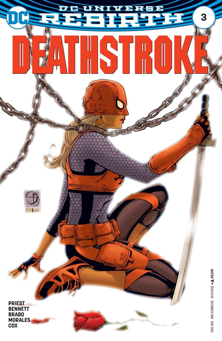 Deathstroke (2016) Issue #3 - Read Deathstroke (2016) Issue #3 comic online in high quality
