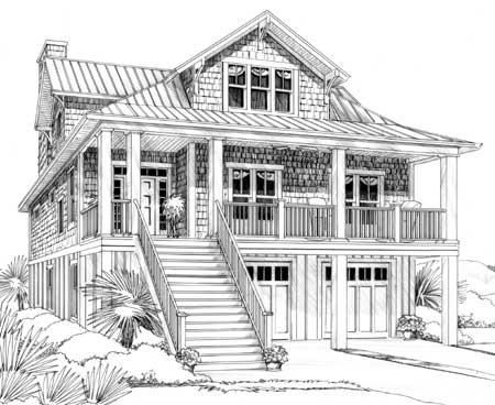 10 best stilt houses images on pinterest small houses 2 for Lake house plans on stilts