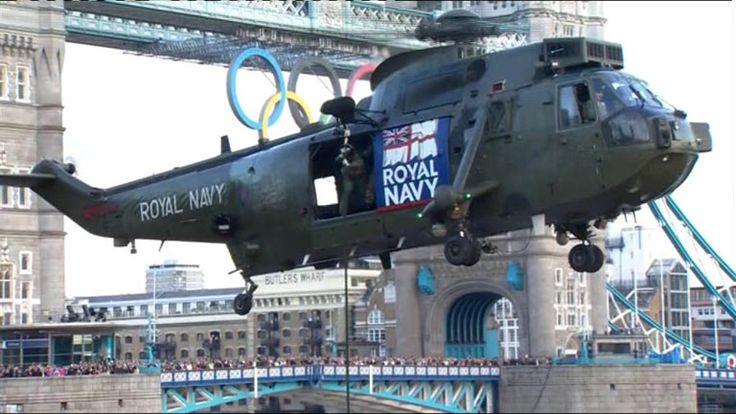 La antorcha olímpica ya duerme en la Torre de Londres