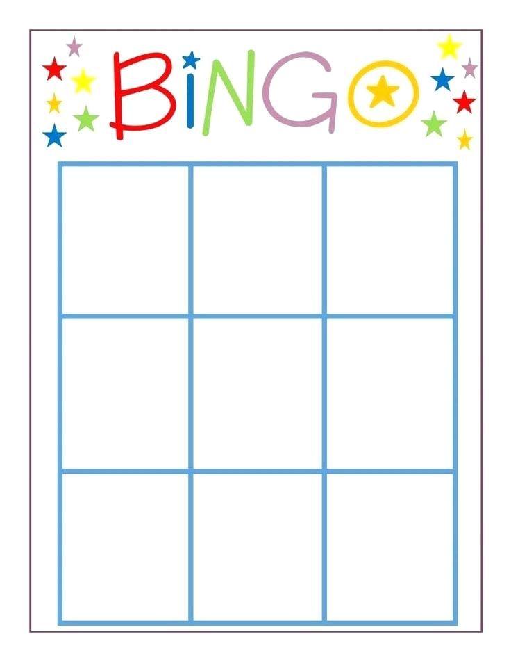 Bingo Template Bingo Template Bingo Card Template Blank Bingo Cards