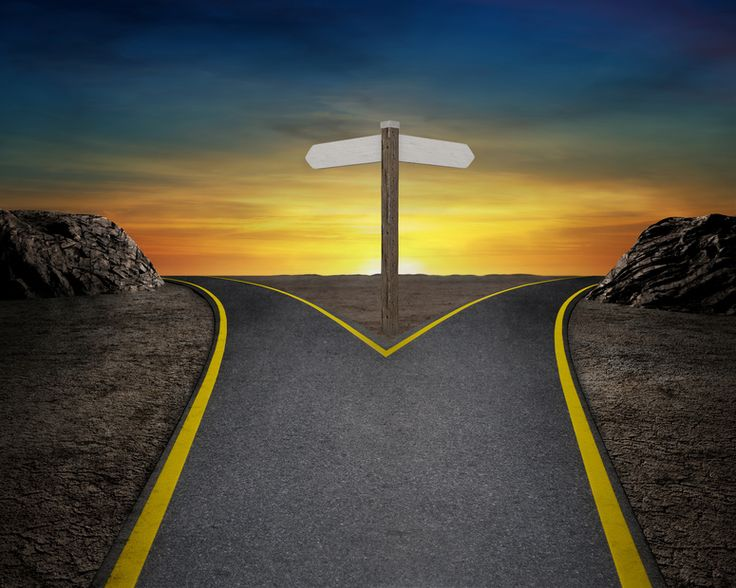 We have come to the prophetic crossroads (the proverbial fork in the road)...the time when we must finally and truly choose light over dark, truth over lies, good over bad. It's that time in our lives when we need to jump off of the fence and put all of our ducks in a row on a spiritual level. We have two choices now...choose one and make it count for eternity.