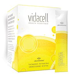 """VIDACELL® is a unique, functional food that helps to fight the """"cellular aging process"""" by providing the essential nutrients necessary to protect, repair and renew the body at a cellular level."""