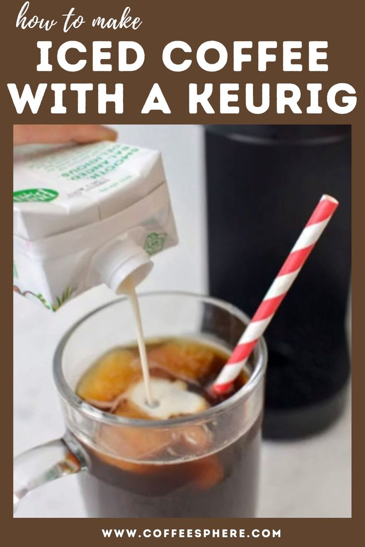 how to make iced coffee with keurig hot