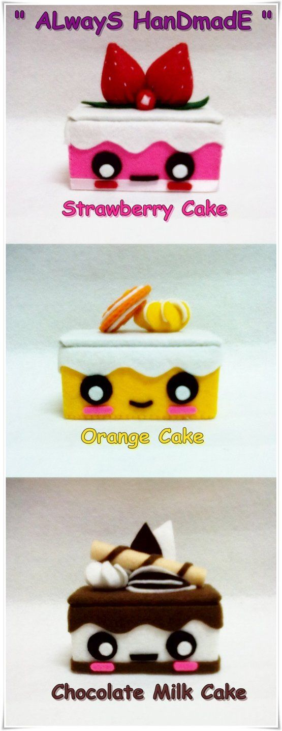 My Cute Cake Box Collection by ~SongAhIn on deviantART