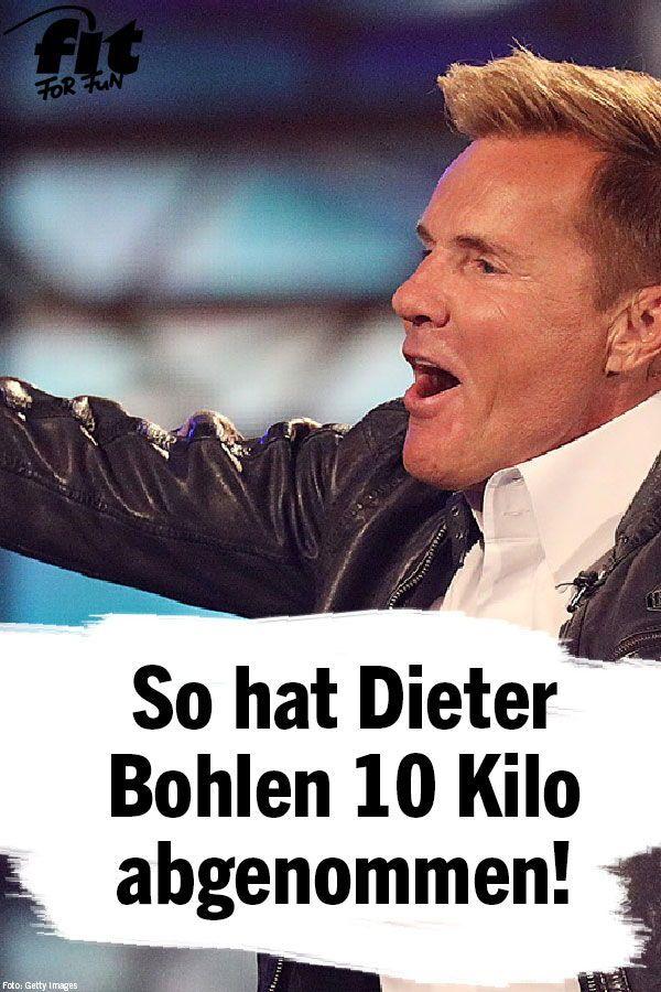 Dieter Bohlen Mit Dieser Diat Hat Er 10 Kilo Abgenommen Fit For Fun Bodybuilding Diat 10 Kilo Abnehmen Abnehmen