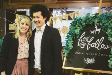Fox  Fallow - Stationary - Blackboards - A Darling Affair Gold Coast - Wedding Fair