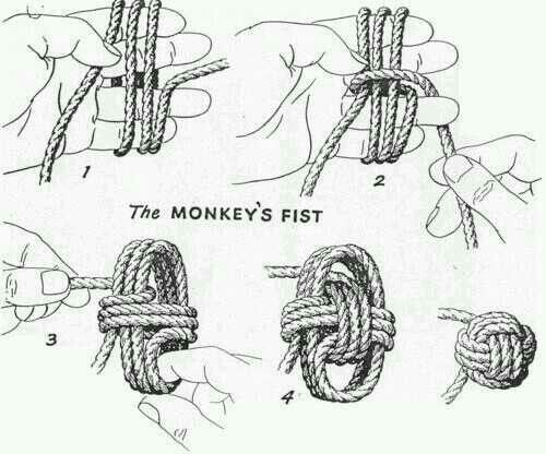 Money fist knot