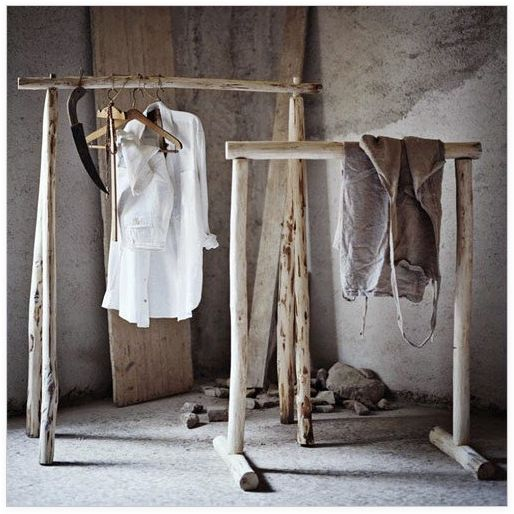 "#DIY des portants ""branches"""
