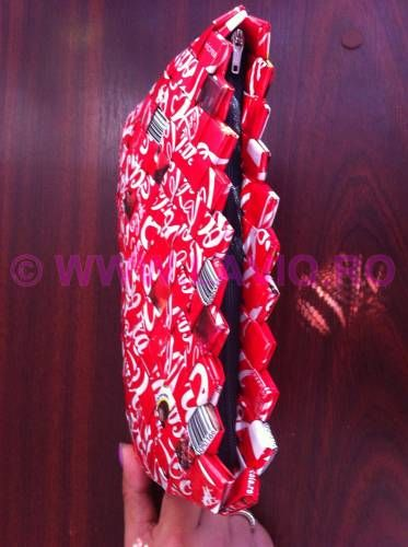 LAVIQ - genti eco, candywrapper bags, tricouri pictate - Candy wrapper bags genti eco