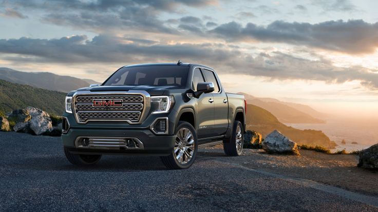 2019 GMC Sierra revealed with CarbonPro bed and new diesel engine