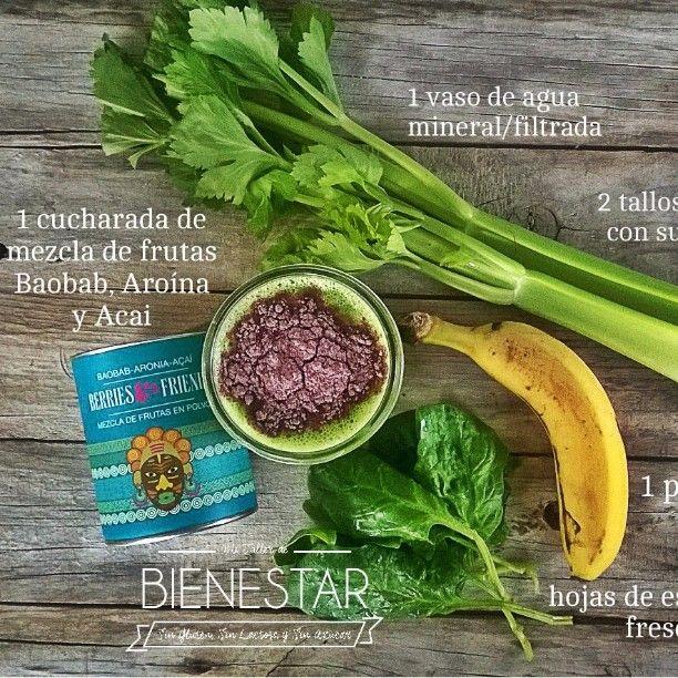 Hola! Ideal para el fin se semana  Si entras a mi Facebook Mi taller de bienestar, he compartido un álbum con más de 50 batidos saludables. Te espero lauri  #smoothies#detox#batidosverdes#superalimentos#maca#baobab#aroina#hierbadetrigo#wheatgrass#clorofila#batidossaludables#hábitos#hábitossaludables#healthy#dairyfree#receta#mitallerdebienestar#vegansofistagram#vegano#verde#greendetox#plátano#apio#espinacas#glutenfree#singluten#sinazúcares#mitallerdebienestar