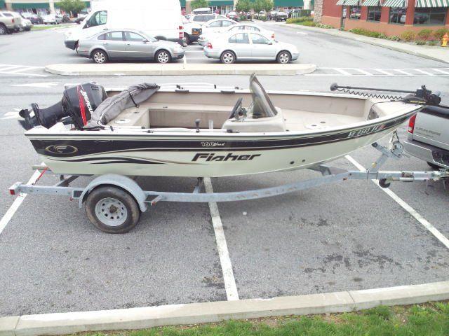 2004 Fisher Hawk 160SC Aluminum Fishing Boat 69507000