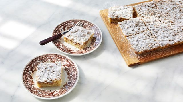 New York Crumb Cake Martha Bakes