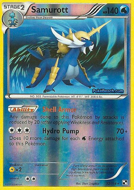 samurott ex pokemon card - Google Search | pokemon cards ...