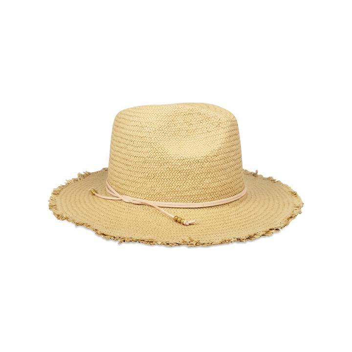 Hat Attack Fringe Travel Hat In Toast Blush Bva131 Travel Hat Sweatband Hats