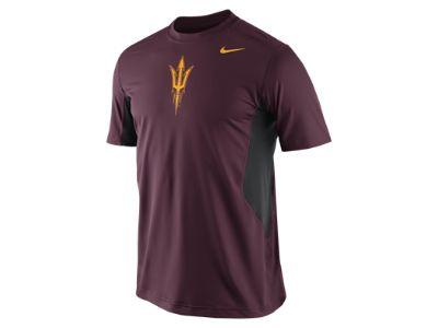 Nike Pro Combat Hypercool Logo (Arizona State) Men's Shirt
