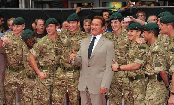 Arnold Schwarzenegger - he's back!