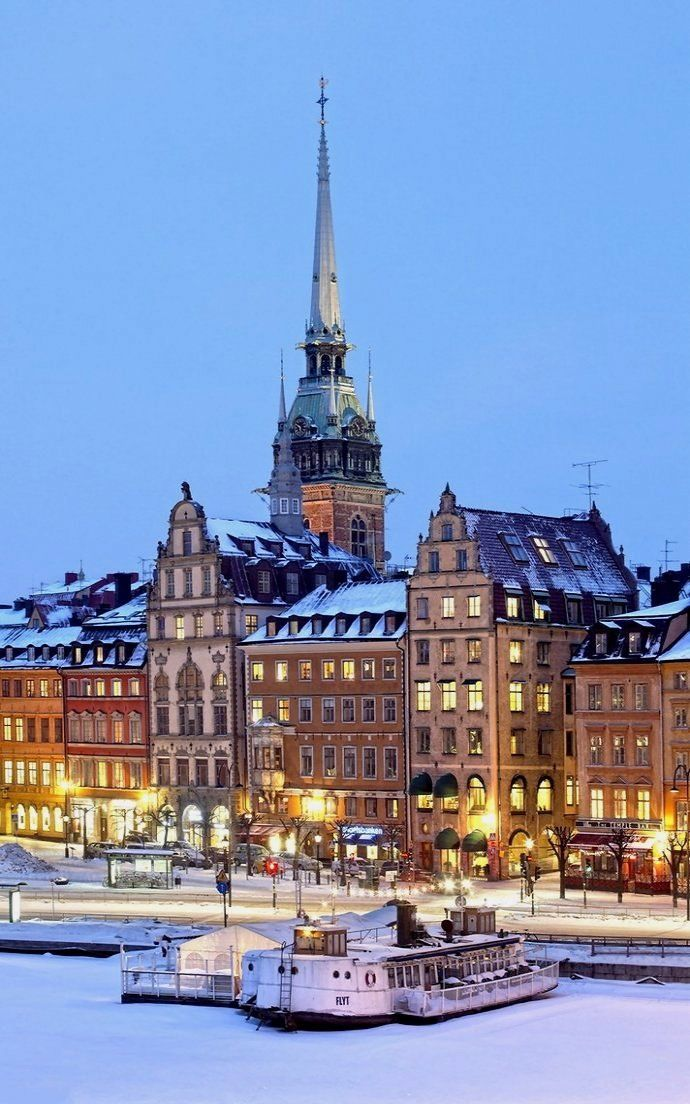 Reasons to Travel to Sweden During Winter Stockholm, Sweden More
