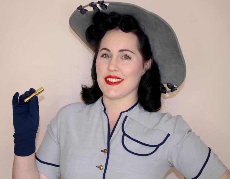 1940's Vintage, Hair, Makeup, Fashion Styling